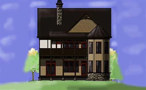 small cottage plan  walkout basement cottage floor plan