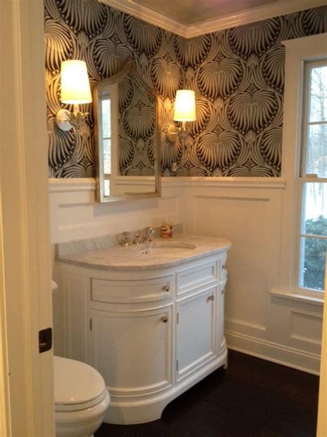 odeon single vanity sink transitional bathroom space