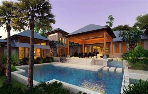 balinese luxury houses  house design  pinterest