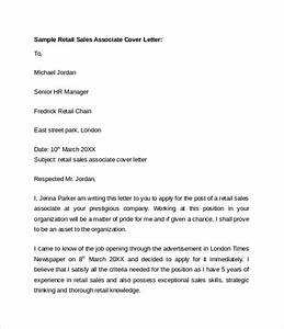 10 retail cover letter templates download free documents With example of cover letter for sales associate position