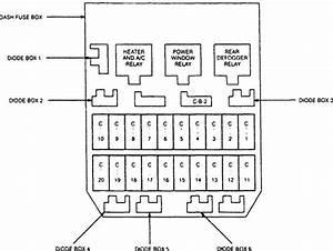 1997 Acura Slx Fuse Box Location