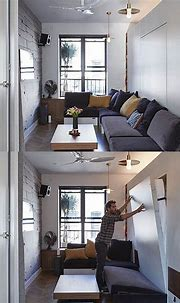 Tiny 350 Square Foot Smart Apartment In New York City ...