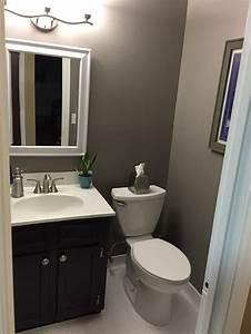 Powder room DIY on a budget