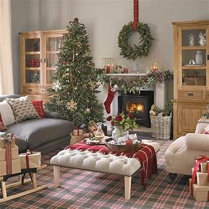 Traditional, Christmas, Decorating, Ideas