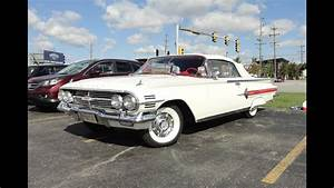 1960 Chevrolet Chevy Impala Convertible In White Paint On