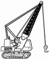 Coloriage Chantier Kleurplaat Construction Machines Camion Grue Dessin Imprimer Kleurplaten Hijskraan Mechanical Coloring Fun Shovel Colorier Google Enfants Tractopelle Crane sketch template
