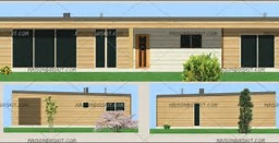 HD wallpapers maison ossature bois moderne en kit cd3d3dc.ga