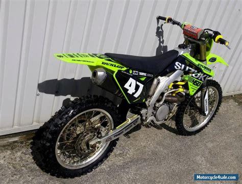 suzuki motocross bikes for sale 2012 suzuki rm z for sale in united kingdom