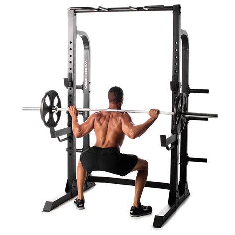weight training multi functional  rack weider pro power rack ebay