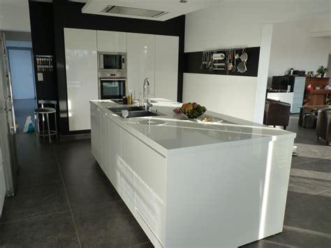 cuisine cuisson cuisine avec ilot central plaque de cuisson maison