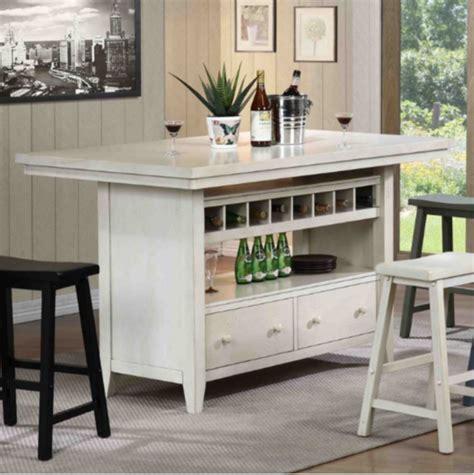 kitchen island with 4 chairs top 7 white kitchen islands furniture
