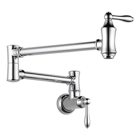 wall mounted kitchen faucets india 1177lf wall mount pot filler faucet traditional