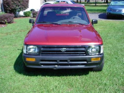 Buy Used Red Toyota Tacoma Pickup Jacksonville