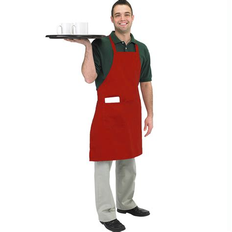 what is an apron butcher bbq aprons available in red black or white