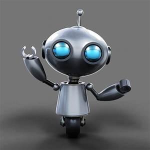 3d robot kyuut model