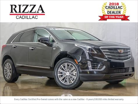 certified pre owned  cadillac xt luxury  sport