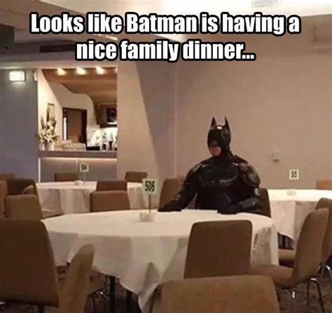 batman    nice family dinner pictures