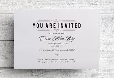 47+ Printable Event Invitation Design Templates PSD AI