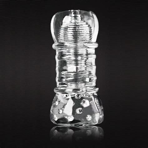 Penis Trainer Transparent Silicone Masturbation Cup