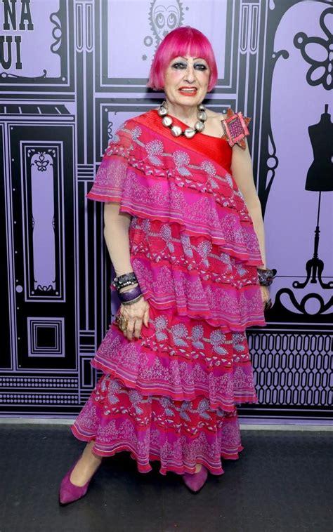 return  zandra rhodes fashions favourite magpie designer