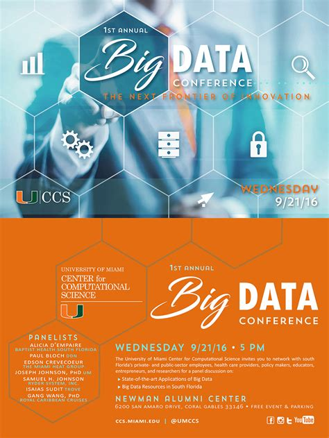 st annual ccs big data conference  offered
