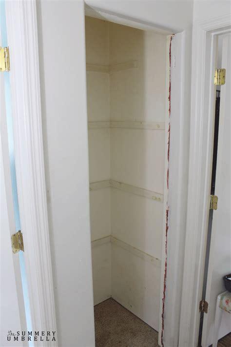 linen door how to paint doors linen closet door