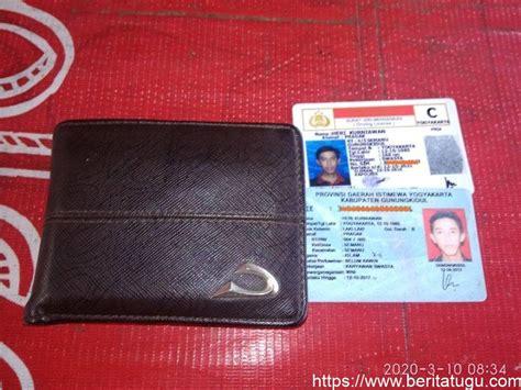 ditemukan dompet berisi kartu identitas atas nama heri