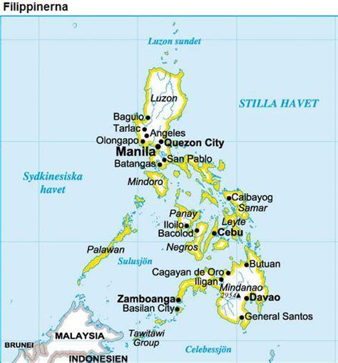 Karta FILIPPINERNA - reseledaren.nu
