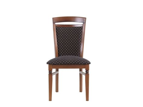 Traditional Dining Office Chair Solid Wood Walnut Bawaria
