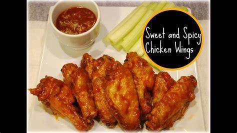 sweet  spicy chicken wings recipe doovi