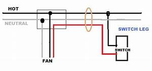 Help Installing A Ceiling Fan  No Light  On A Circuit W