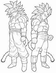 Dragon Ball Super Goku Coloring Pages