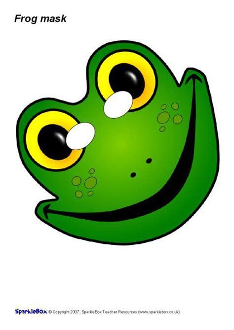 frog role play mask sb sparklebox