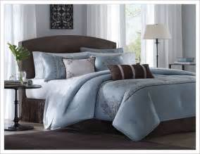 brown and blue comforter sets king home design ideas