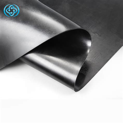 durable black natural rubber sheet roll  reliable performance qingdao yotile rubber