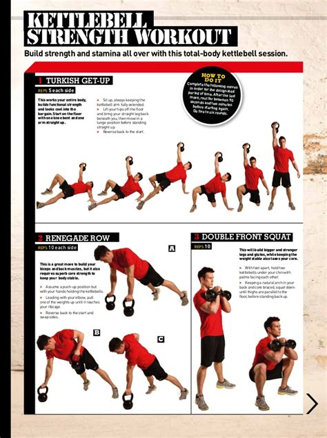kettlebell workout cardio routine fat exercises burning routines kettlebells strength body turkish fitness dvds loss power swings gym