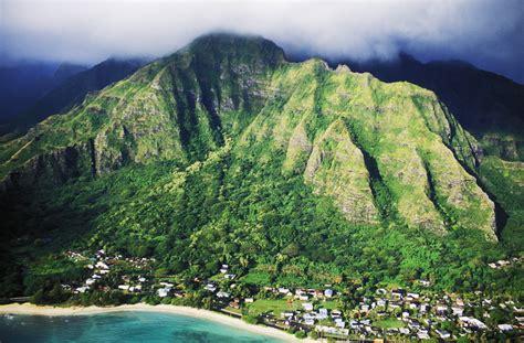 Hawaii Islands Mountain Ranges