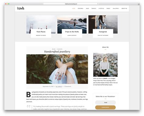Best Selling Blog Themes For Travel Fashion