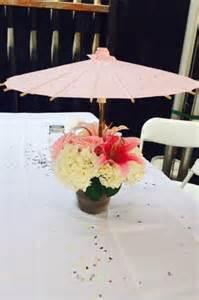 Bridal Shower Centerpiece with Umbrella