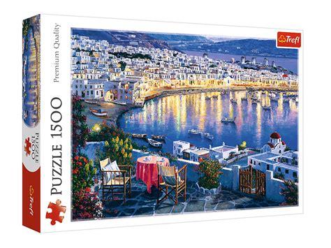 Sestavljanka Otok Mykono Grčija 1500 delna | Trgovina Eigrače.com