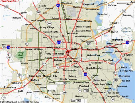 map  houston texas  printable maps