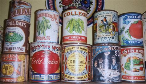 early cuisine late 1800 39 s early 1900 39 s food tins collectors weekly