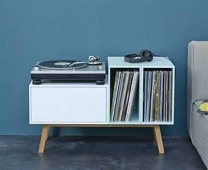 17 meilleures idees a propos de rangement de vinyles sur With meuble rangement pour disque vinyle