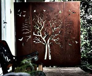 43 best images about weathering steel on pinterest tree for Kitchen cabinets lowes with metal tree branch wall art