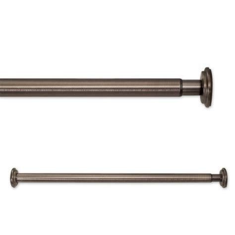 source global 18 to 30 inch in tension rods bronze