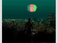 GTA San Andreas Moon With Afghanistan Flag Mod GTAinsidecom