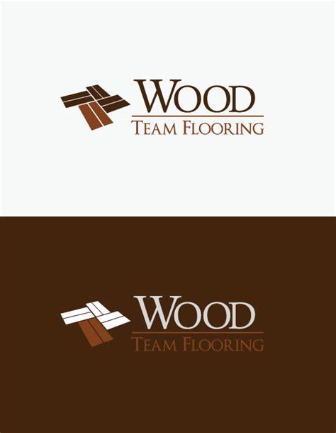 hardwood floor logo wood team flooring on behance