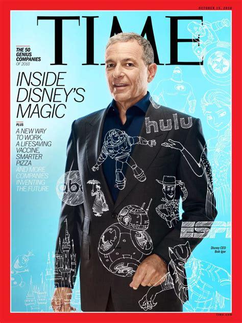 Time Magazine Profiles the Genius of Bob Iger ...