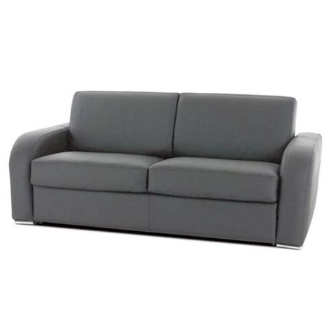 Canapé Convertible Rapido Couchage 3 Tailles Tissu Tramé Canapé Convertible Rapido En Cuir Promo 28