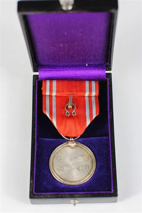 wwii cased japanese orders  medals witherells